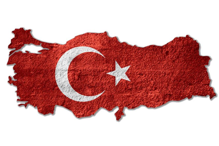 Turkey-Flag-Map