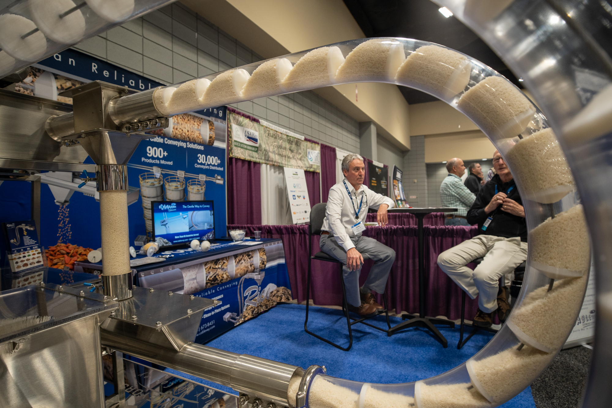 Milling technology on display in the Exhibit Hall