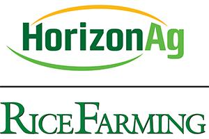 HorizonAg and Rice Farming Magazine Logos