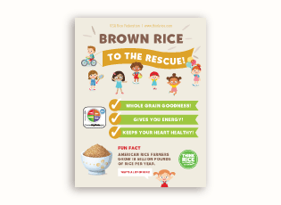 Thumbnail image of Brown Rice to the Rescue poster