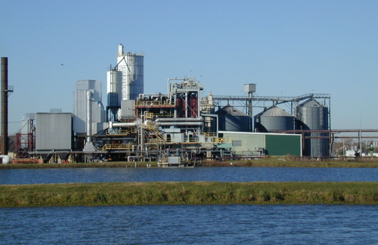 Agrilectric Power Plant at Lake Charles LA
