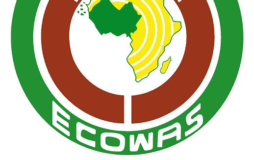 Economic Community of West African States or ECOWAS logo