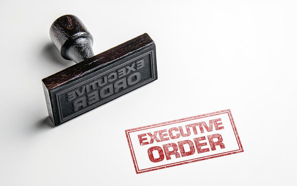 Executive Order Stamp