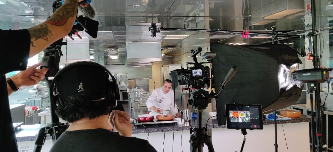Man in white chef