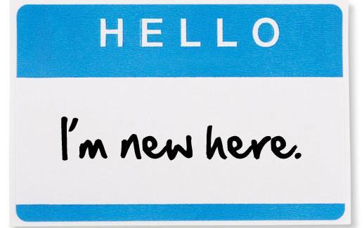 Nametag that reads:  Hello I