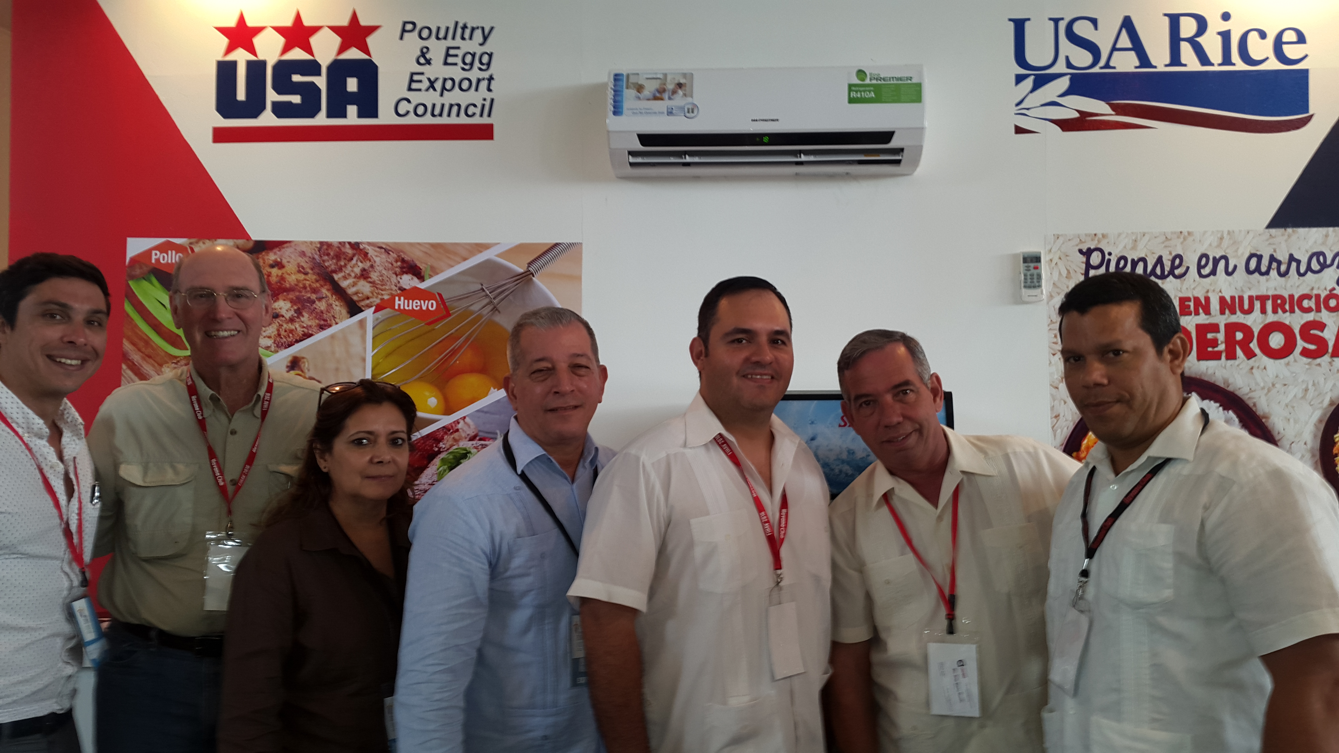 USA Rice meeting with importers in Havana