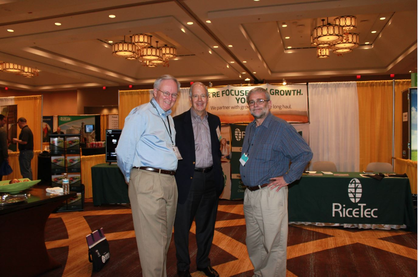 USA Rice Outlook Conference exhibit hall