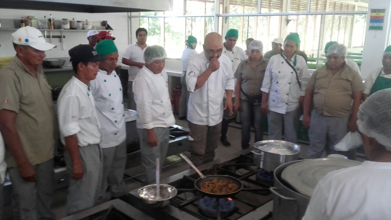 A USA Rice cooking workshop for foodservice professionals