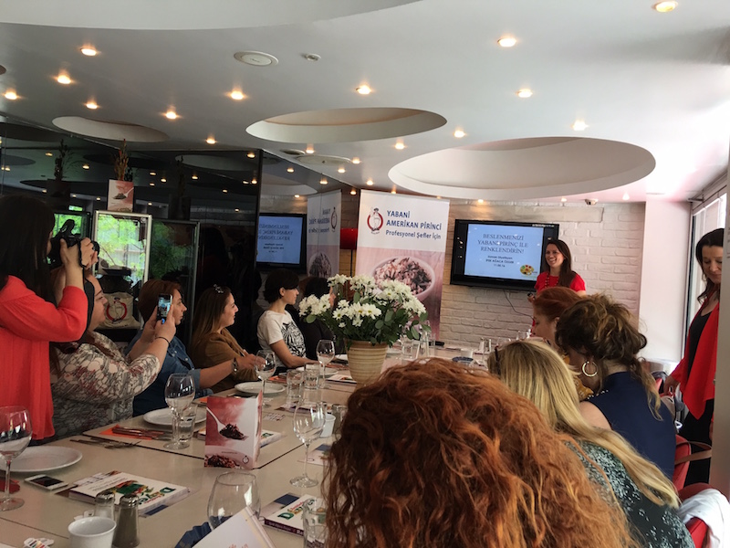 Blogger event in Turkey focusing on wild rice