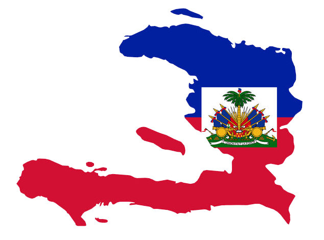 Haiti-Flag-Map