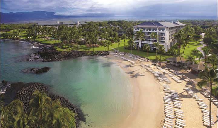View of The Fairmont Orchid resort