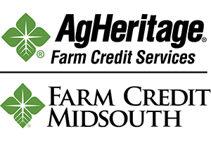 AgHeritage and Farm Credit Midsouth Logos
