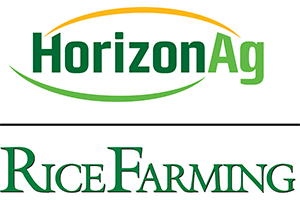 HorizonAg and Rice Farming Magazine Logos