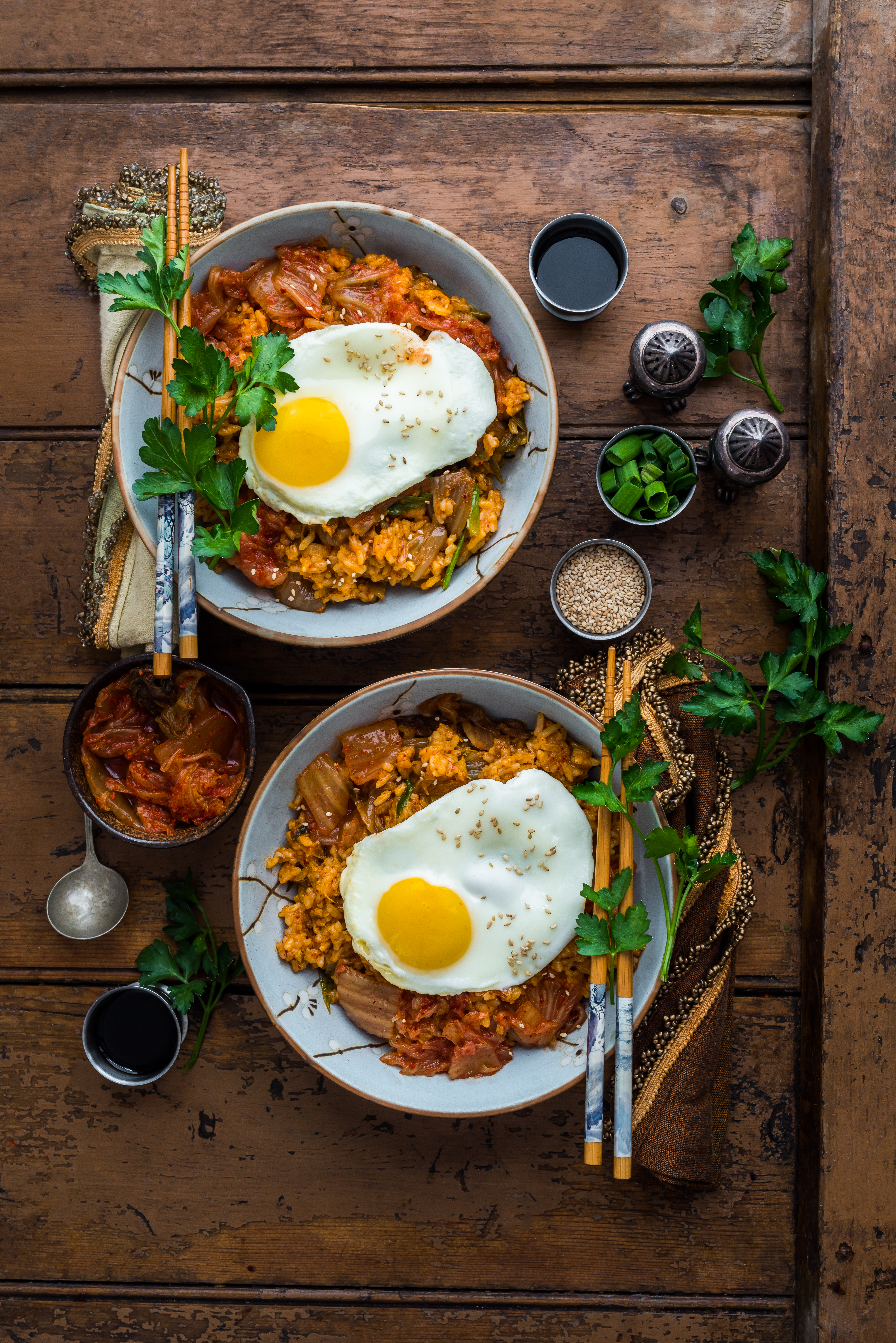 Blogger promo with Kimchi Fried Rice
