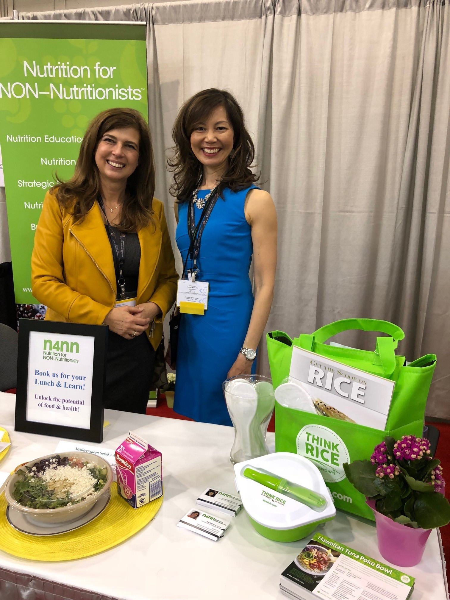 Trade Show with Nutritionists