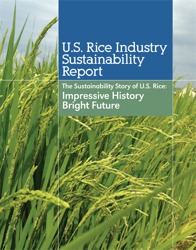 U.S. Rice Sustainability Report Cover Image