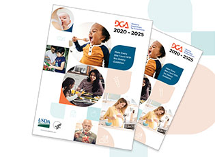 Cover image of the 2020-2025 Dietary Guidelines for Americans