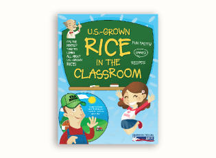 Thumbnail image of the U.S.-Grown Rice in the Classroom booklet