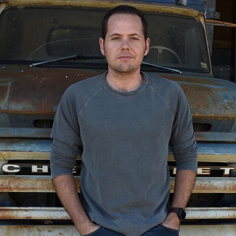 Headshot of rice farmer Zach Worrell.
