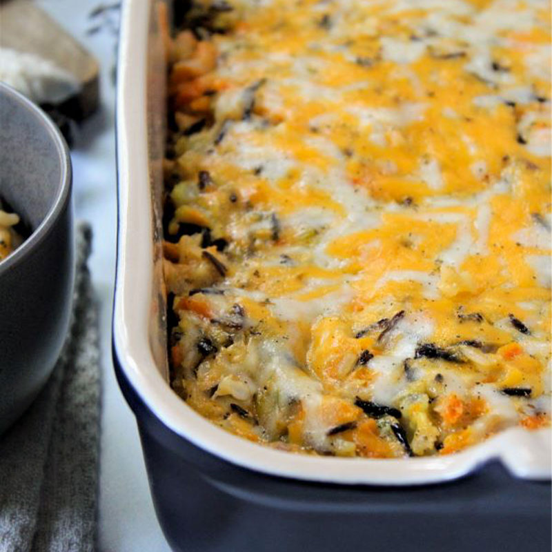 Cheesy-Chicken-Wild-Rice-Casserole-2