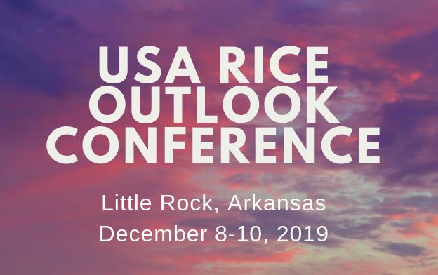 2019 Outlook Conference text over purple, pink and blue clouds