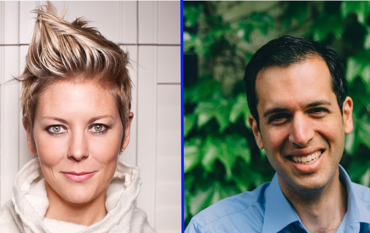 Headliners Dr. Morgaine Gaye and Daniel Stone