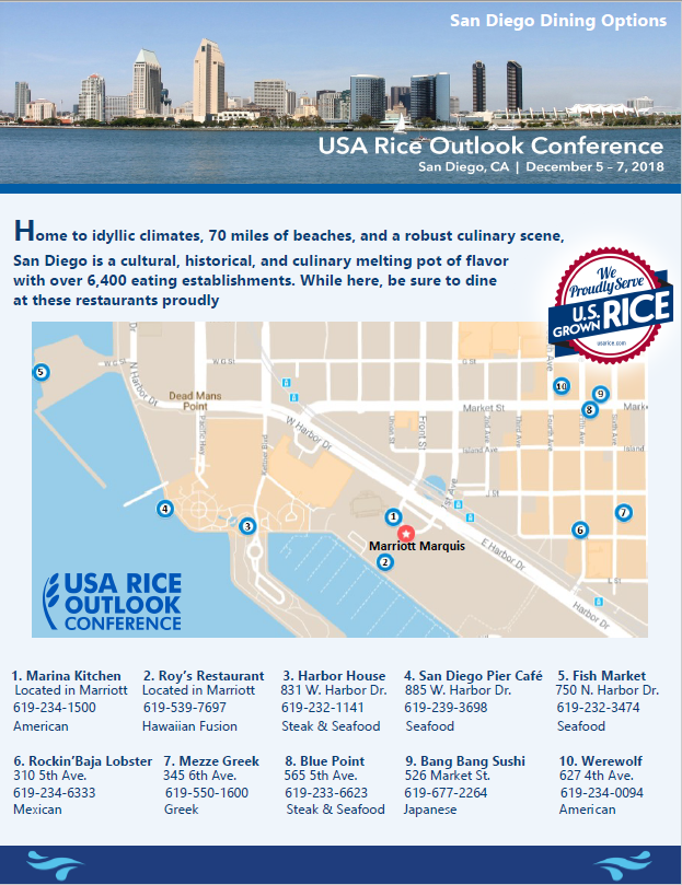 Outlook Restaurant San Diego street map