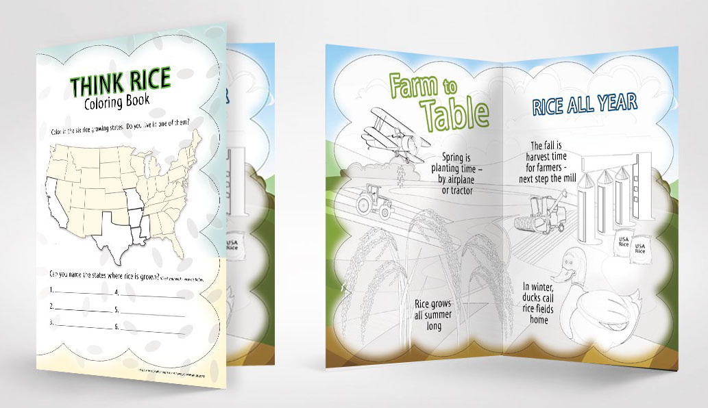 - New Coloring Activity Book Lets Kids Get Creative USA Rice Federation