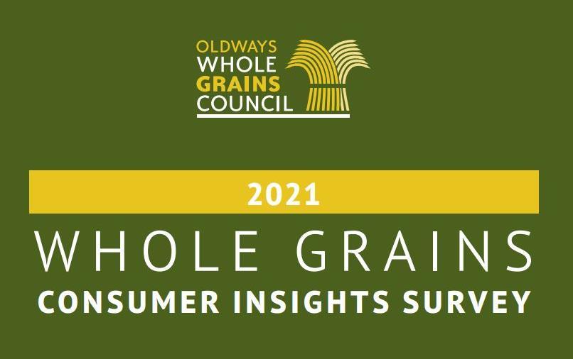 Whole Grains Consumption Survey graphic