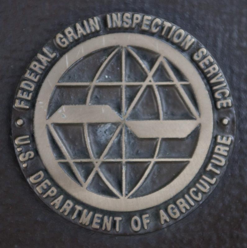 FGIS Logo in metal