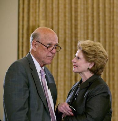 GA-Senate Names FB Conferees, Roberts & Stabenow-180802