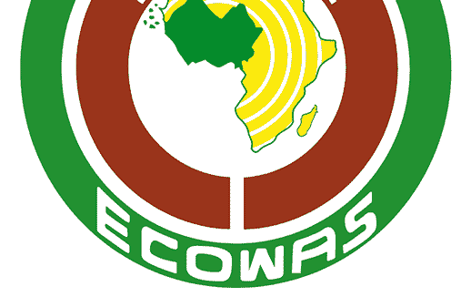 Economic Community of West African States or ECOWAS logo