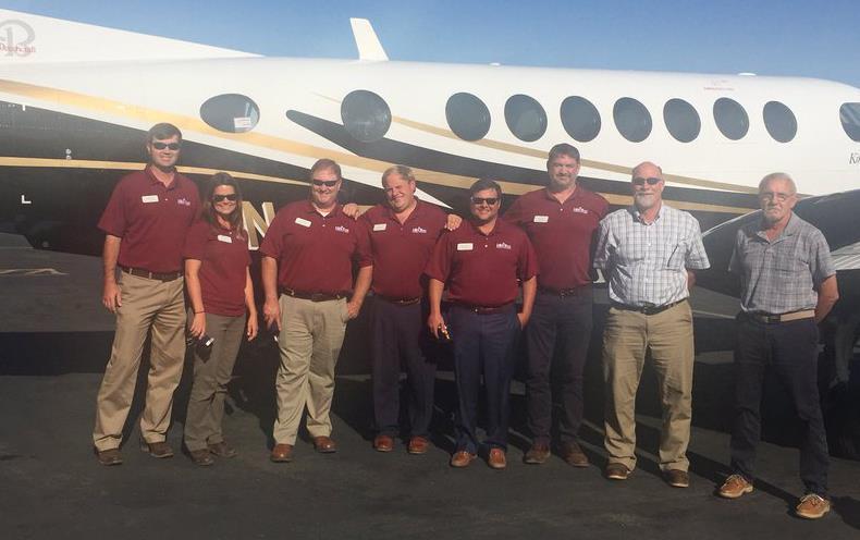 2017-19 Leadership Class outside plane-190207