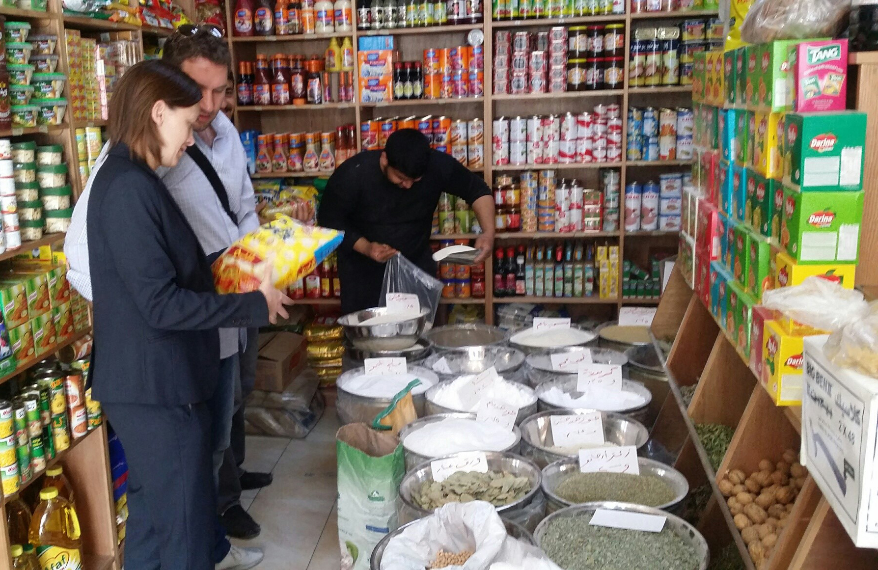 Traditional wholesaler in Jordan