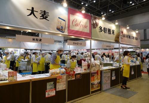 Co-Operative Grocer Chain (CGC) Japan exhibit promotes U.S. medium grain rice
