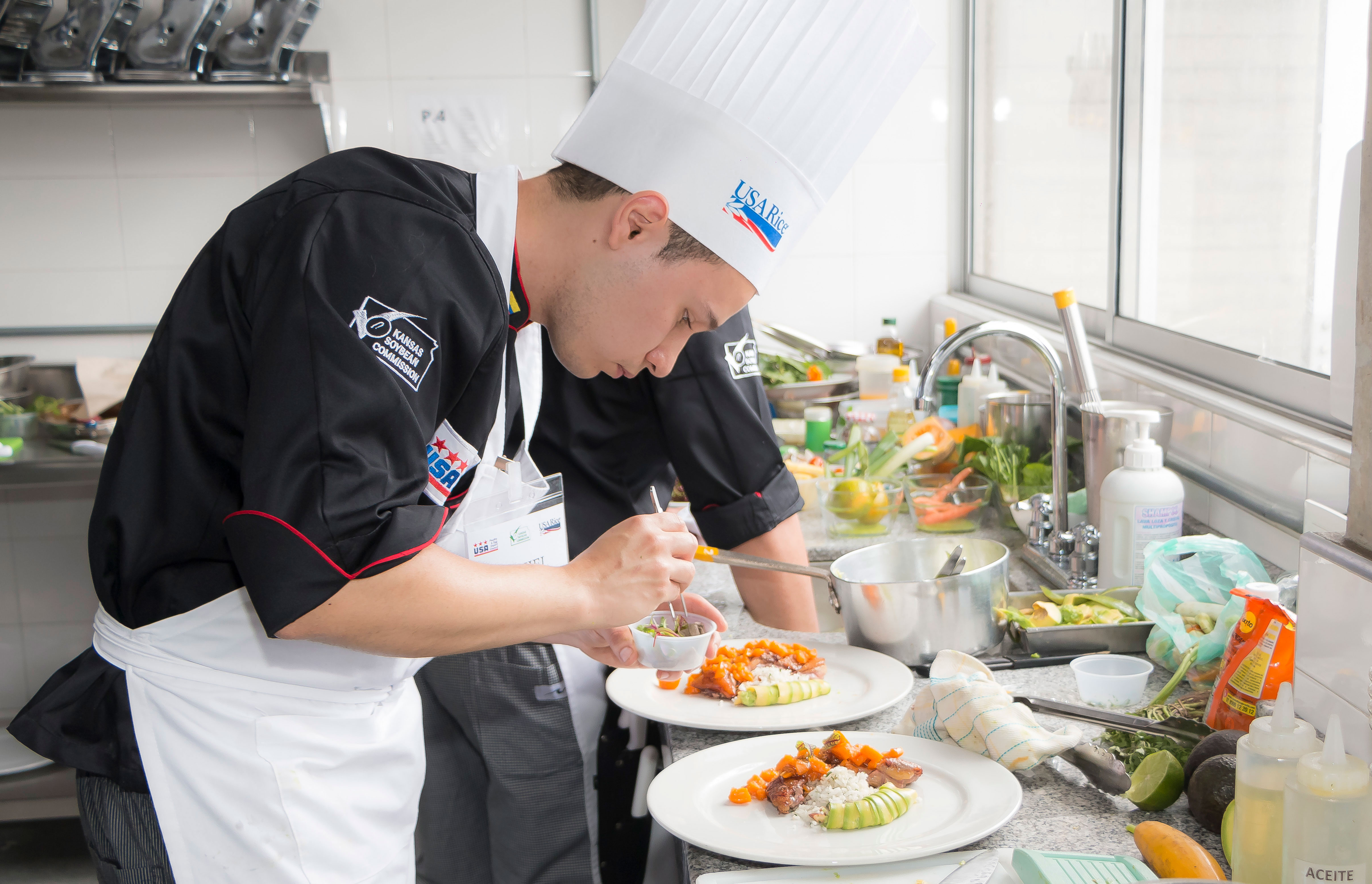 USA Rice Chef Competition in Bogota, Colombia