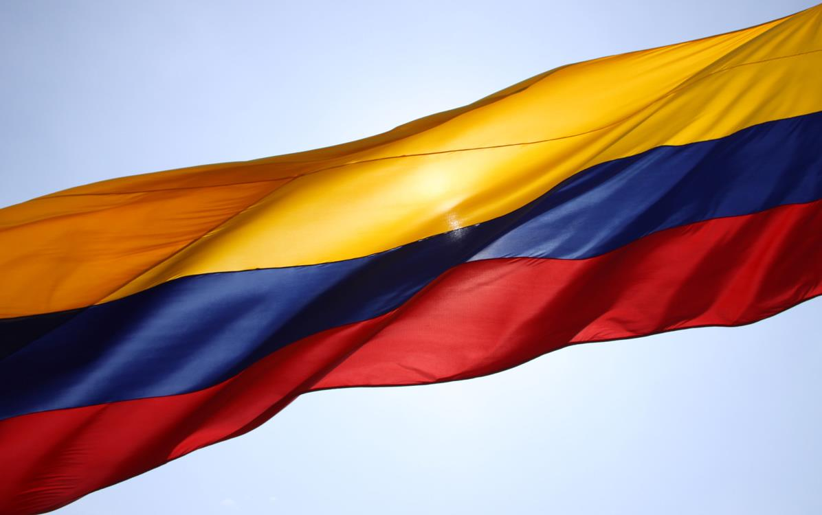 Colombia-flag, photo by Martin St-Amant