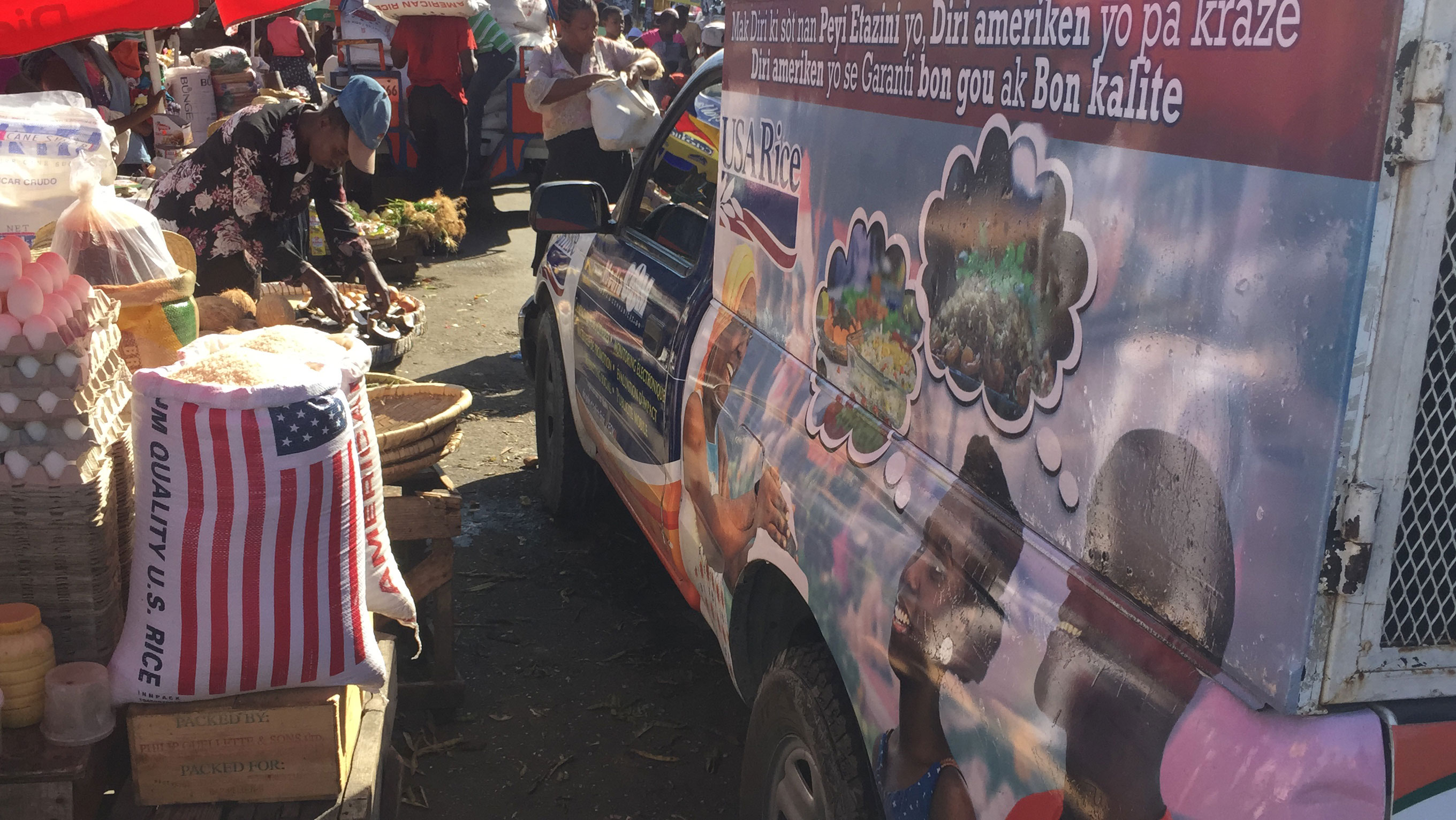 USA Rice Food Truck Promotions in Haiti