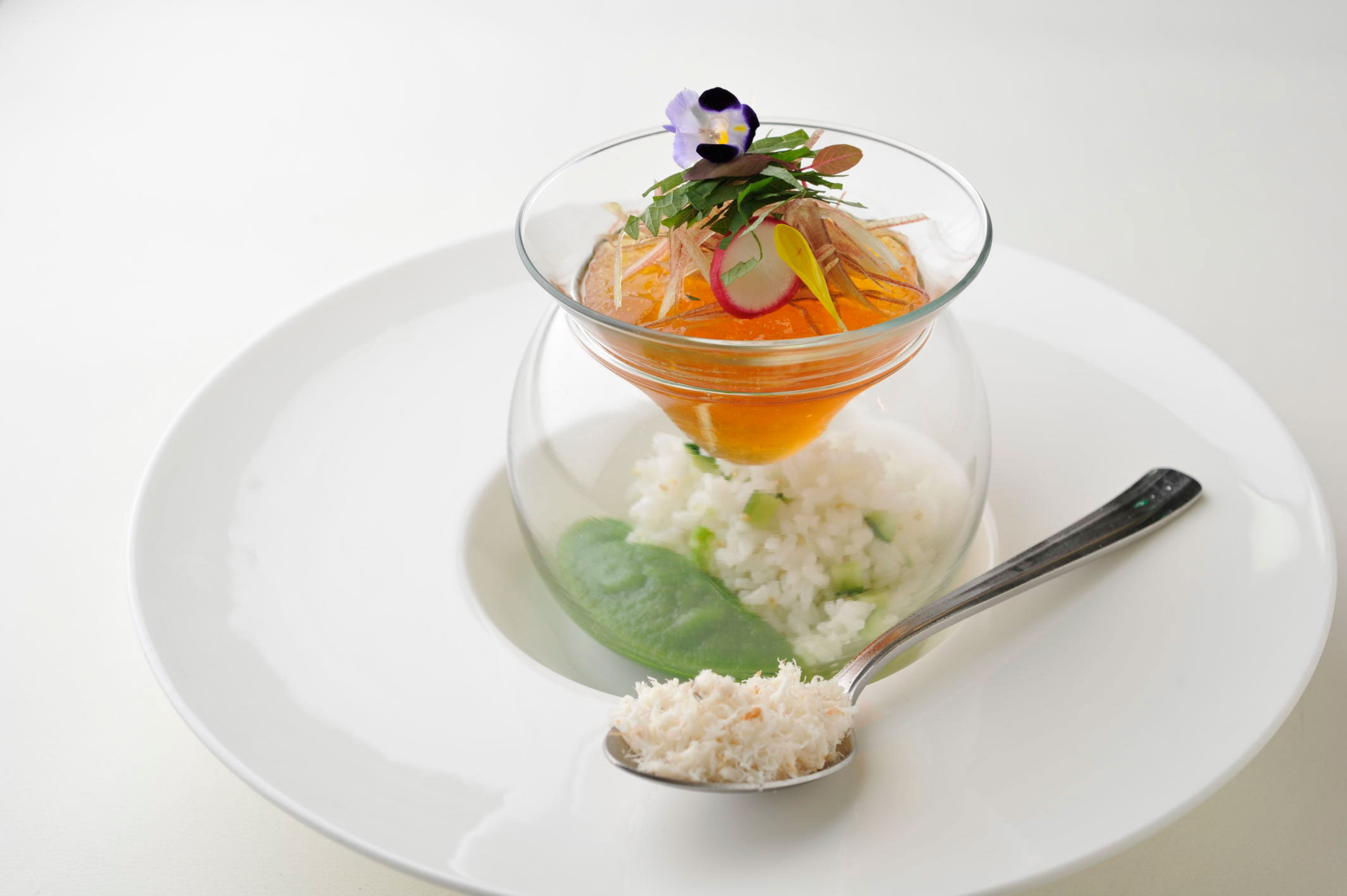 First prize dish in medium grain cooking contest in Japan