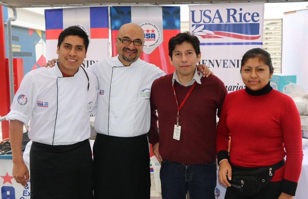 USA Rice promotions in Peru