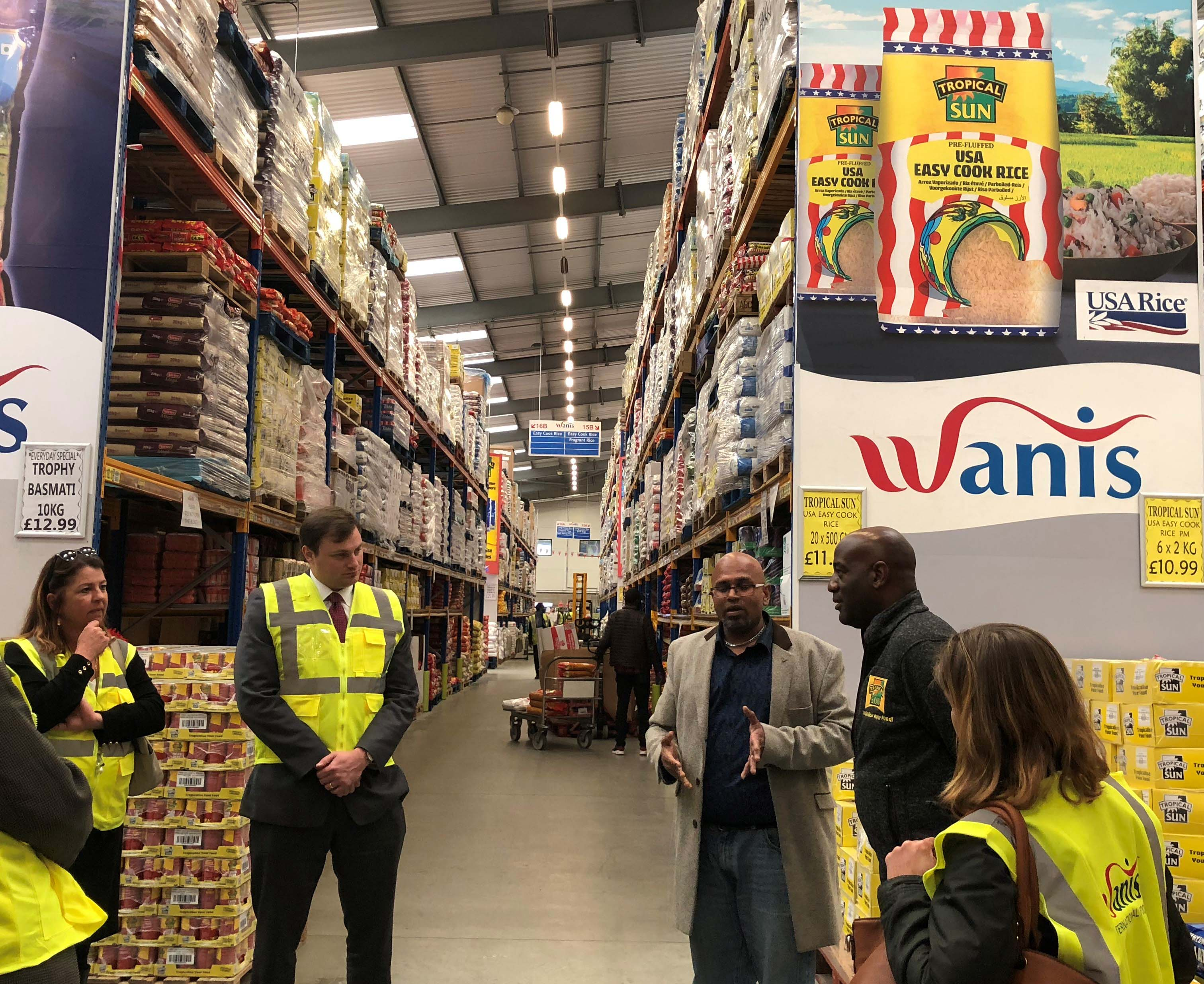 IP-w.USA Rice Delegation Visits UK to Promote Market Interests-181023