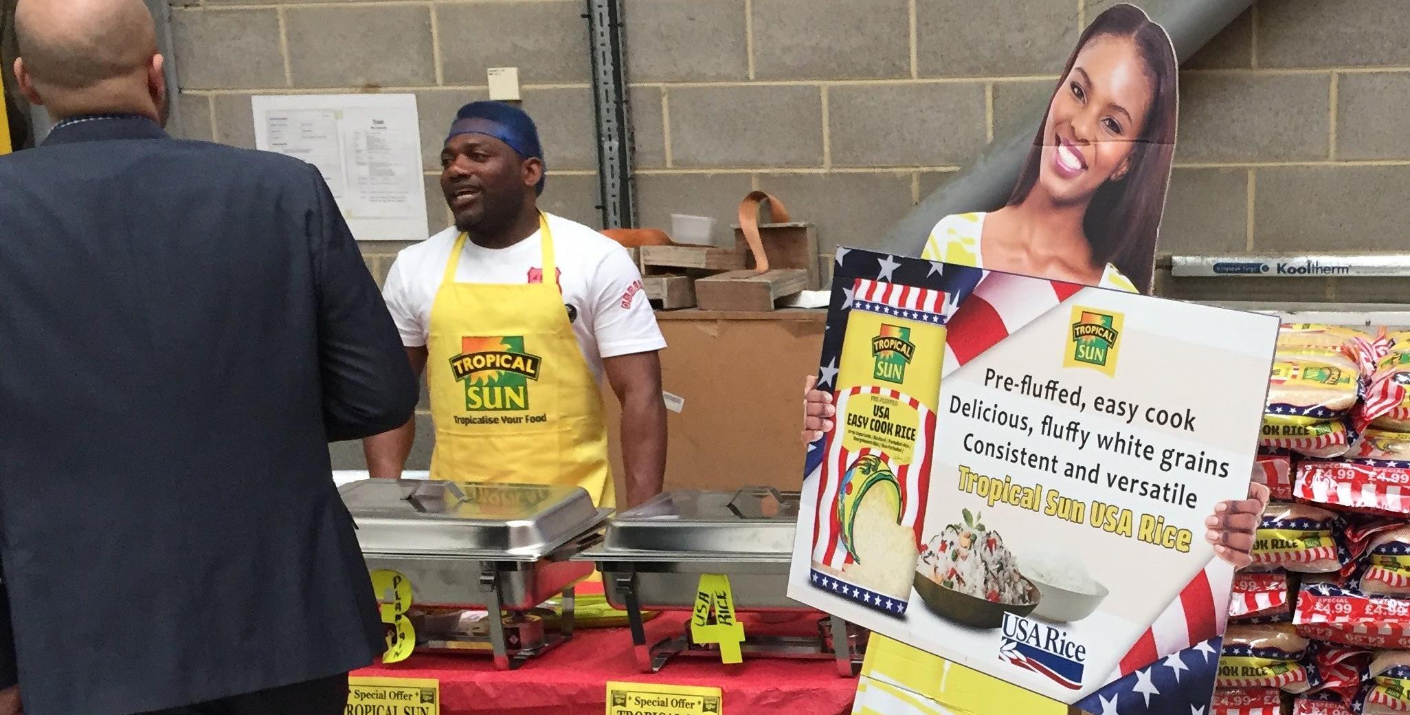 Chef Gayle Love cooks up success at Wanis Trade Day in the United Kingdom