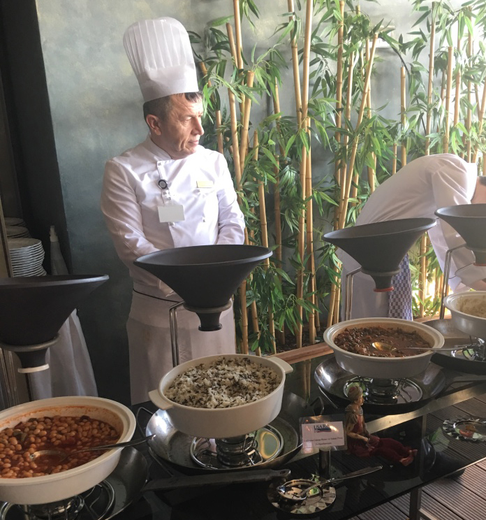 World Renowned Chefs and U.S. Rice Work Overtime in Turkey