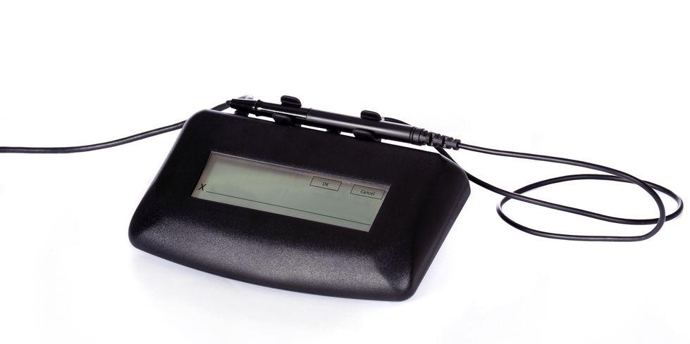 e-Signature pad