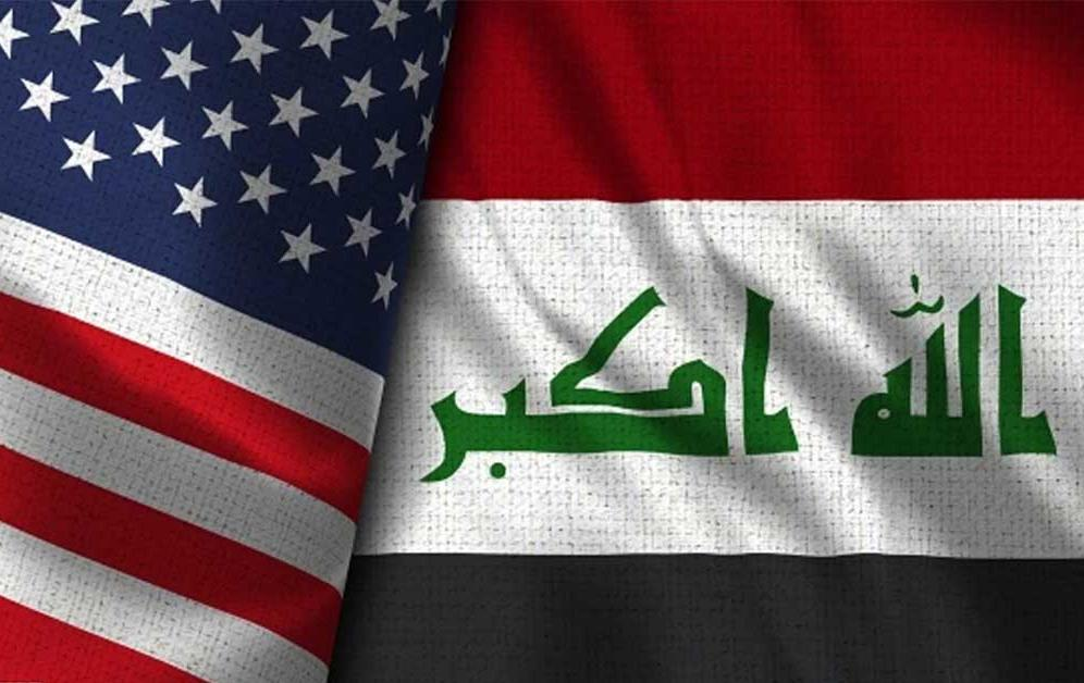 US and Iraq flags