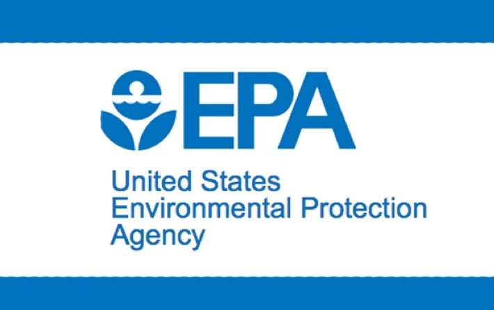 EPA Logo with blue border