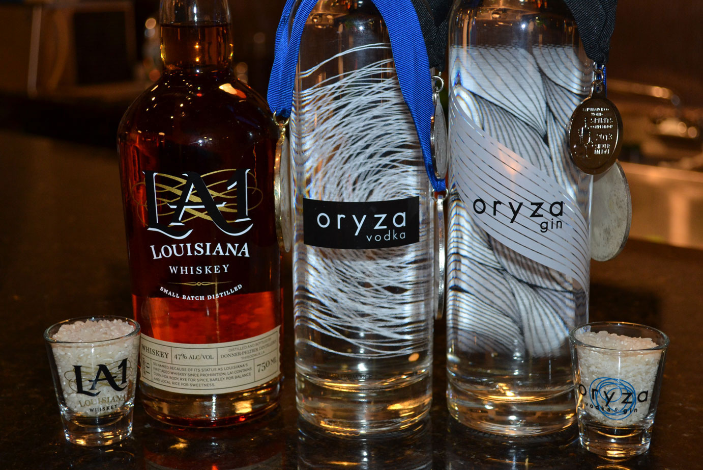 LA-Donner-Peltier-Distillers 3 bottles of rice spirits