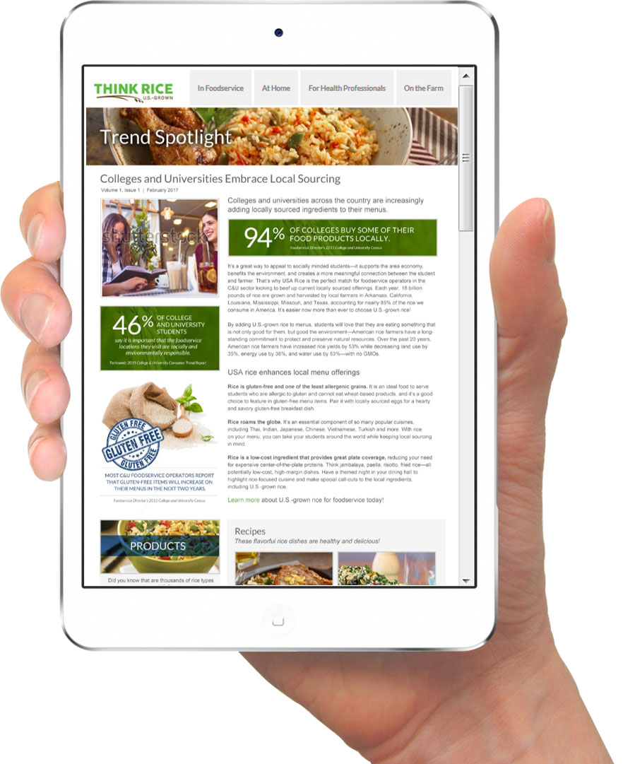 C&U-Newsletter-Ipad