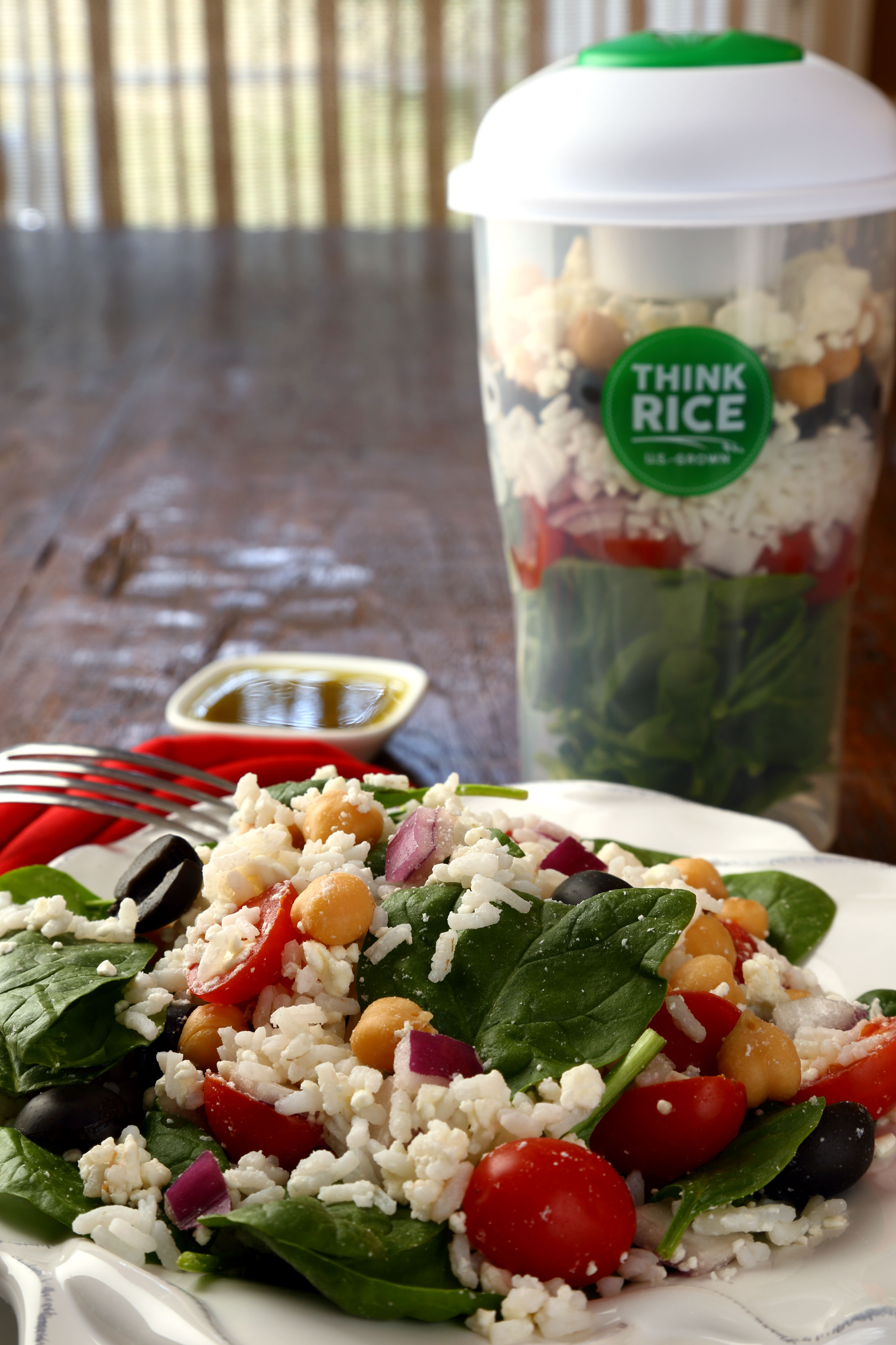 Colorful salad-with-Think-Rice-Shaker