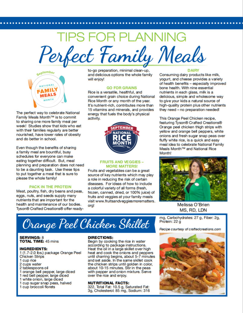 Image of USA Rice NRM Retail Dietitian Newsletter